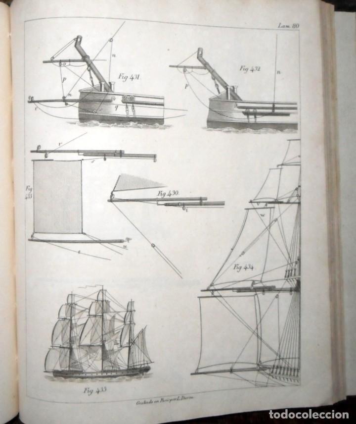 ARTE DE APAREJAR Y MANIOBRAS DE LOS BUQUES 2 TOMOS. MADRID 1859. DARCY LEVER. (Libros Antiguos, Raros y Curiosos - Geografía y Viajes)
