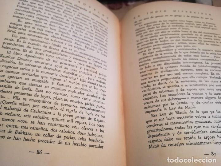 Libros antiguos: La India Misteriosa. Rajahs, Bramanes y Fakires - Robert Chauvelot - 1929 - Foto 10 - 124554403