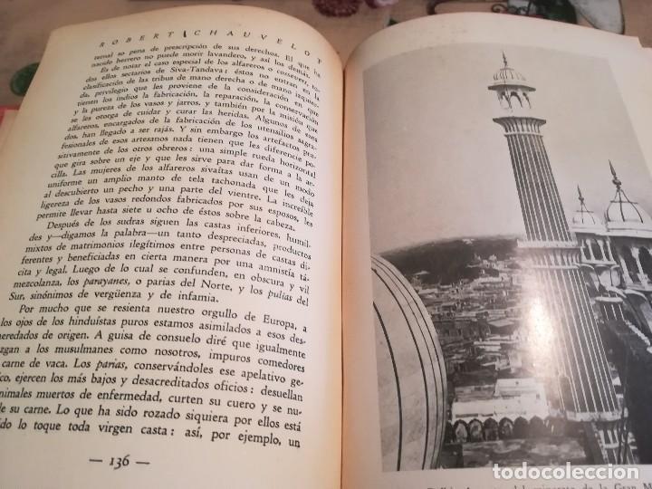 Libros antiguos: La India Misteriosa. Rajahs, Bramanes y Fakires - Robert Chauvelot - 1929 - Foto 11 - 124554403