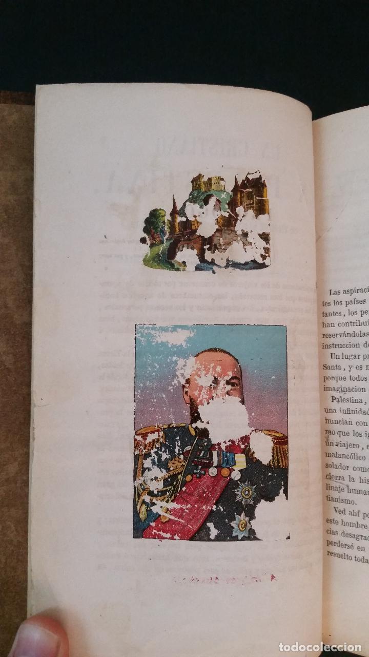 Libros antiguos: 1855 - F. VALLESCÁ - Un cristiano en Palestina, ó sea Un viaje de Barcelona a Jerusalén en 1853 - Foto 3 - 125737795