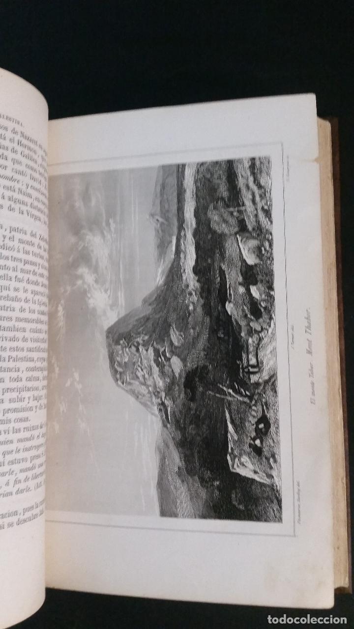 Libros antiguos: 1855 - F. VALLESCÁ - Un cristiano en Palestina, ó sea Un viaje de Barcelona a Jerusalén en 1853 - Foto 7 - 125737795