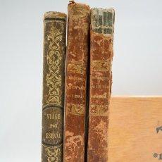 Libros antiguos: RECUERDOS DE UN VIAGE POR ESPAÑA - MADRID 1849 - TRES VOLÚMENES. Lote 126161907