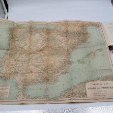 Libros antiguos: BAEDEKER SPAIN Y PORTUGAL - 1901 - CON 7 MAPAS Y 47 PLANOS DE CIUDADES Y MONUMENTOS DE ESPAÑA. Lote 126166919