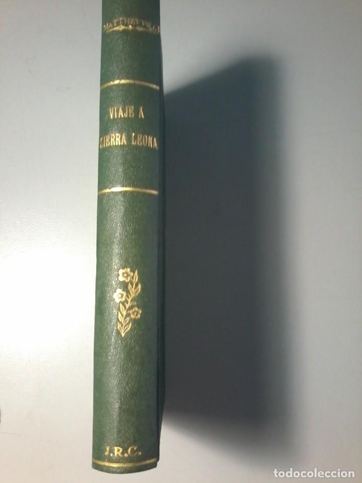 VIAJE A SIERRA LEONA EN LA COSTA DE AFRICA - JOHN MATTHEWS - CALPE 1942 (Libros Antiguos, Raros y Curiosos - Geografía y Viajes)