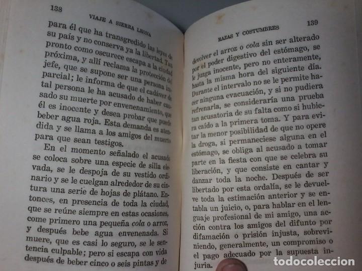Libros antiguos: VIAJE A SIERRA LEONA EN LA COSTA DE AFRICA - JOHN MATTHEWS - CALPE 1942 - Foto 4 - 126380635