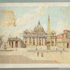 Libros antiguos: [TURISMO Y VIAJES. FOTOGRAFIA. ROMA. MILAN, 1900] SPQR. ROME. SOUVENIR DE ROME. . Lote 126632351