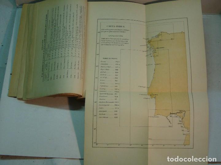 Libros antiguos: Derrotero de las costas de España y Portugal (1915) - Foto 5 - 127264079