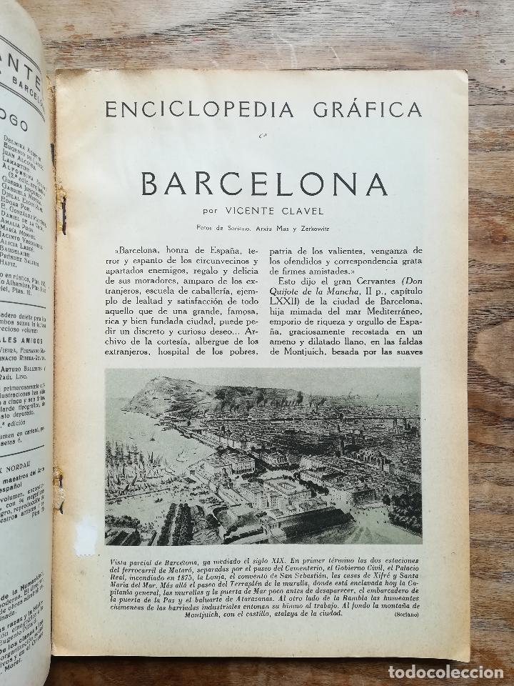 Libros antiguos: Enciclopedia Gráfica: Barcelona - CLAVEL, Vicente, 1929 - Foto 2 - 120171030
