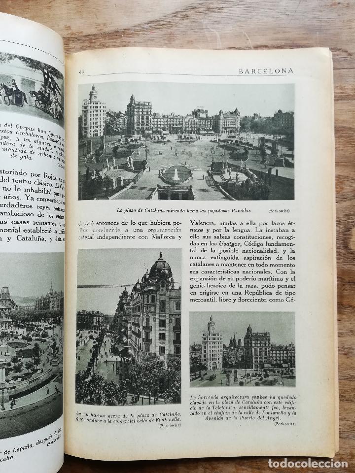 Libros antiguos: Enciclopedia Gráfica: Barcelona - CLAVEL, Vicente, 1929 - Foto 3 - 120171030