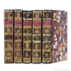 Libros antiguos: LABORDE (ALEXANDRE DE). ITINÉRAIRE DESCRIPTIF DE L'ESPAGNE. [VIAJE POR ESPAÑA] 1808. 1.ª EDICIÓN. Lote 127820012