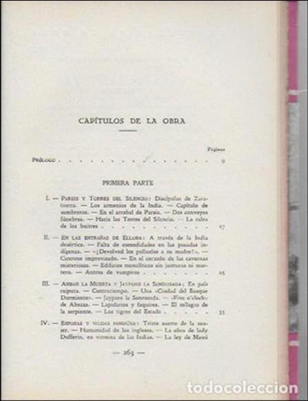 Libros antiguos: La india misteriosa. Rajahs, Brahmanes y Faquires / R. Chauvelot. BCN : J.Gil, 1929. 1ªed. Tapa dura - Foto 3 - 127897067
