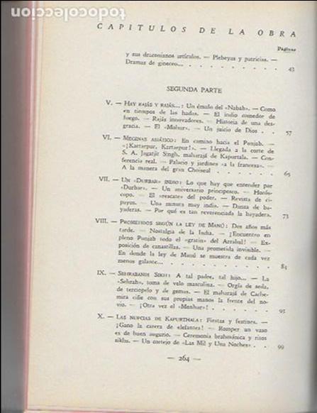Libros antiguos: La india misteriosa. Rajahs, Brahmanes y Faquires / R. Chauvelot. BCN : J.Gil, 1929. 1ªed. Tapa dura - Foto 4 - 127897067