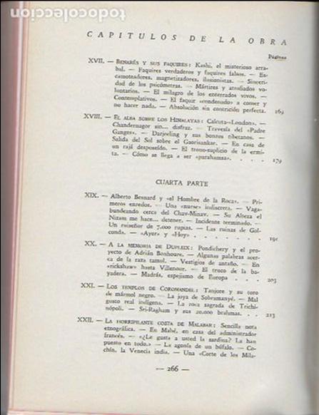 Libros antiguos: La india misteriosa. Rajahs, Brahmanes y Faquires / R. Chauvelot. BCN : J.Gil, 1929. 1ªed. Tapa dura - Foto 6 - 127897067