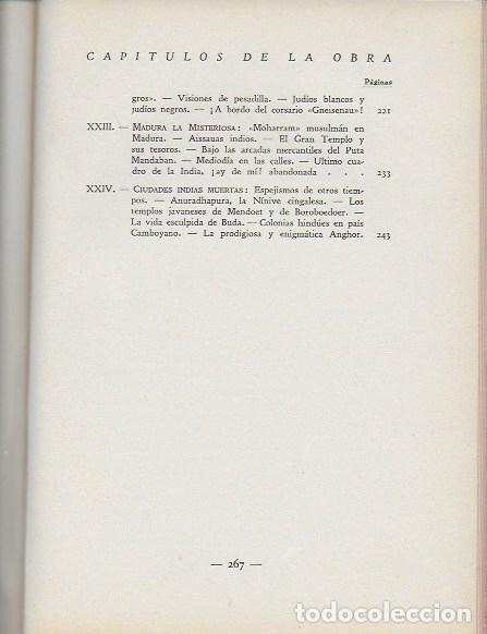 Libros antiguos: La india misteriosa. Rajahs, Brahmanes y Faquires / R. Chauvelot. BCN : J.Gil, 1929. 1ªed. Tapa dura - Foto 7 - 127897067
