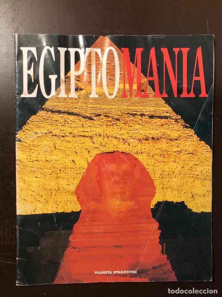 EGIPTO MANÍA(11€) (Libros Antiguos, Raros y Curiosos - Geografía y Viajes)