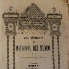 Libros antiguos: ANTIGUO LIBRO COLECCIÓN DE VIAJES. Lote 128013091