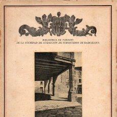 Libros antiguos: SERRA Y BOLDÚ : TÁRREGA (LIB. FCO. PUIG, 1932). Lote 128123459