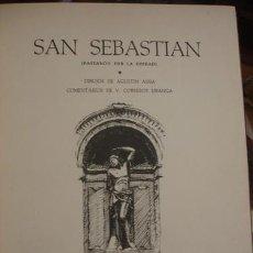 Libros antiguos: SAN SEBASTIAN (PASEANDO POR LA CIUDAD) - PORTAL DEL COL·LECCIONISTA *****. Lote 128336295