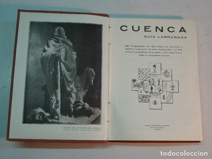 Libros antiguos: Lote Cuenca:Las Bellezas naturales y las grandezas históricas de Cuenca (1927)-Guía Larrañaga (1929) - Foto 7 - 128751839