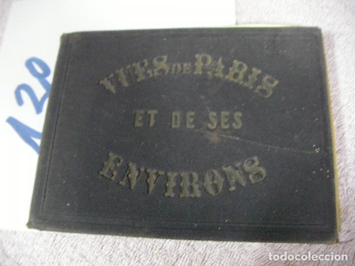 ANTIGUO LIBRO DE IMAGENES VISTAS DE PARIS Y SUS ALREDEDORES - VUES DE PARIS DE SES ENVIRONS (Libros Antiguos, Raros y Curiosos - Geografía y Viajes)