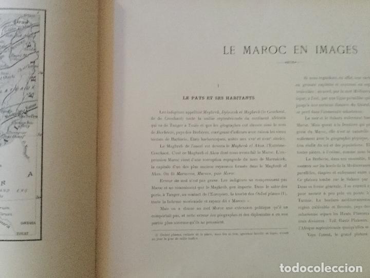 Libros antiguos: Le Maroc en images. Orné de 52 illustrations / Féli-Brugière. Paris : Lib. Mondiale, circa 1900. - Foto 2 - 129126623
