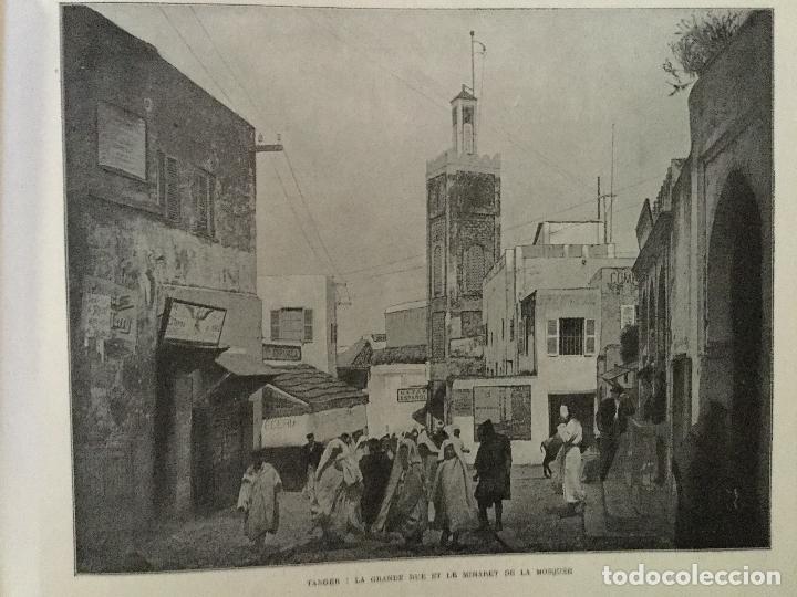 Libros antiguos: Le Maroc en images. Orné de 52 illustrations / Féli-Brugière. Paris : Lib. Mondiale, circa 1900. - Foto 3 - 129126623