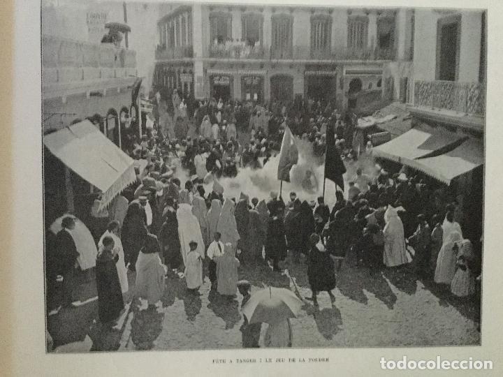 Libros antiguos: Le Maroc en images. Orné de 52 illustrations / Féli-Brugière. Paris : Lib. Mondiale, circa 1900. - Foto 4 - 129126623