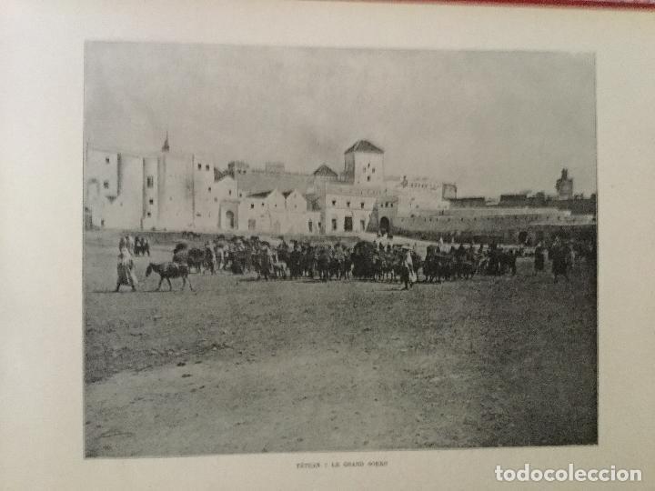 Libros antiguos: Le Maroc en images. Orné de 52 illustrations / Féli-Brugière. Paris : Lib. Mondiale, circa 1900. - Foto 5 - 129126623