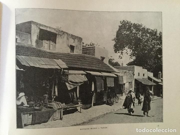 Libros antiguos: Le Maroc en images. Orné de 52 illustrations / Féli-Brugière. Paris : Lib. Mondiale, circa 1900. - Foto 6 - 129126623