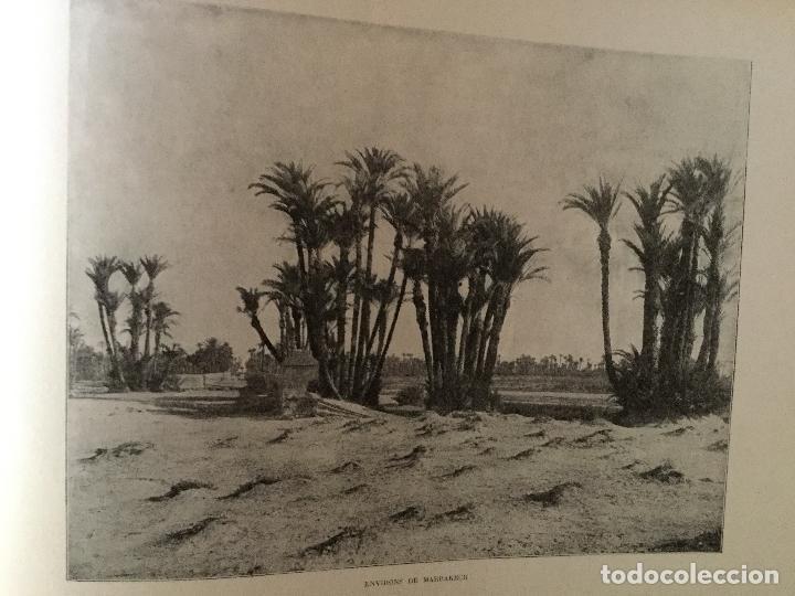 Libros antiguos: Le Maroc en images. Orné de 52 illustrations / Féli-Brugière. Paris : Lib. Mondiale, circa 1900. - Foto 7 - 129126623