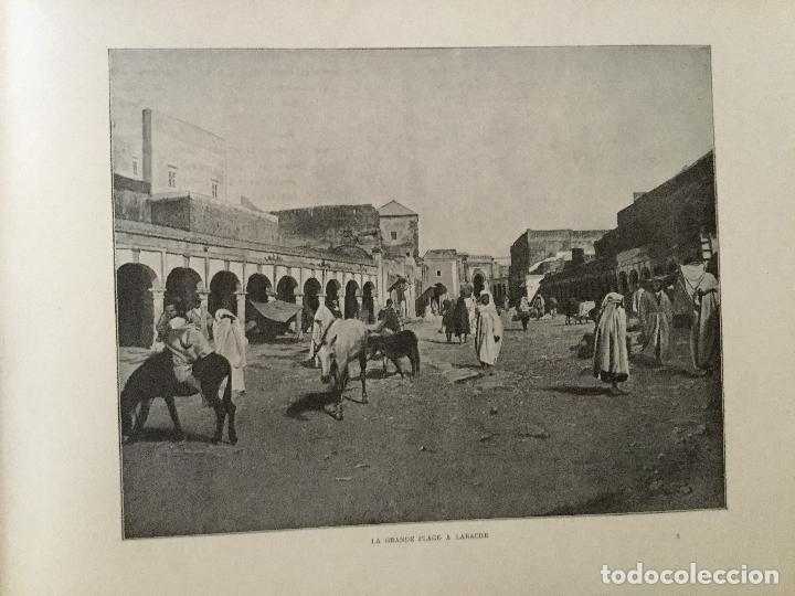 Libros antiguos: Le Maroc en images. Orné de 52 illustrations / Féli-Brugière. Paris : Lib. Mondiale, circa 1900. - Foto 8 - 129126623
