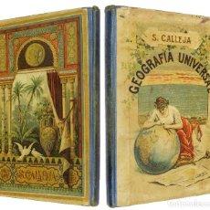 Libros antiguos: 1930-1931 ATLAS DE CALLEJA - 234 MAPAS QUE AÚN INCLUYEN POSESIONES DE ULTRAMAR. Lote 129452511