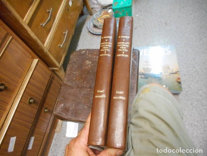 GRAN OBRA EN DOS TOMOS GEOGRAFIA UNIVERSAL FISICA POLITICA HISTORICA 1827 POR MARIANO TORRENTE (Libros Antiguos, Raros y Curiosos - Geografía y Viajes)