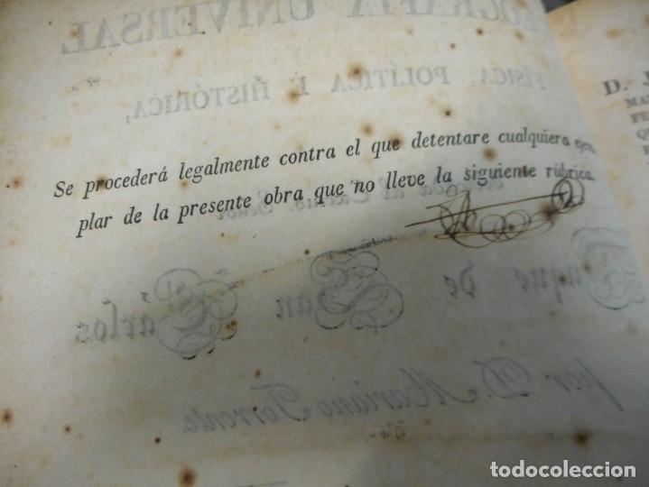 Libros antiguos: GRAN OBRA EN DOS TOMOS geografia universal fisica politica historica 1827 por mariano torrente - Foto 4 - 130185851