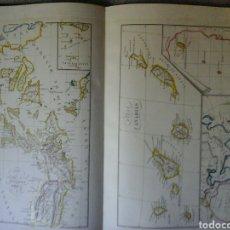 Libros antiguos: LIBRO ATLAS MAPAS GRABADOS EN 1853 POR R. ALABERN Y E. MABON. Lote 130436300
