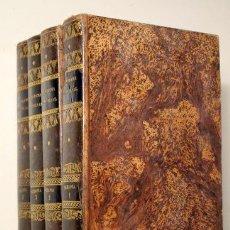 Old books: RIENZI. - PANORAMA UNIVERSAL. HISTORIA OCEANIA Ó QUINTA PARTE DEL MUNDO (4 VOL. - COMP.) - 1845. Lote 130883933