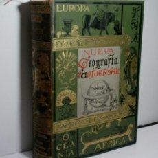 Libros antiguos: NUEVA GEOGRAFÍA UNIVERSAL. LA TIERRA Y LOS HOMBRES. RECLUS ELISEO. 1887. Lote 131029348