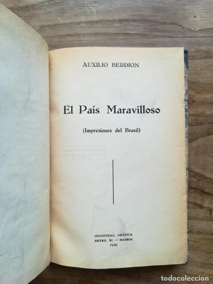 el país maravilloso. impresiones del brasil - b - Comprar Libros ...