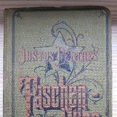 Libros antiguos: JUSTUS PERTHES. TASCHEN - ATLAS. 33 AUFLAGE. HERMANN HABENICHT. 1894. Lote 131786870