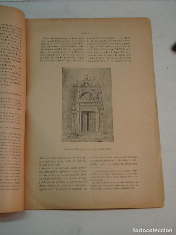 Libros antiguos: Eloy García de Quevedo y Concellón: Excursiones por la Provincia de Burgos (1899) (dedicado) - Foto 3 - 132184986