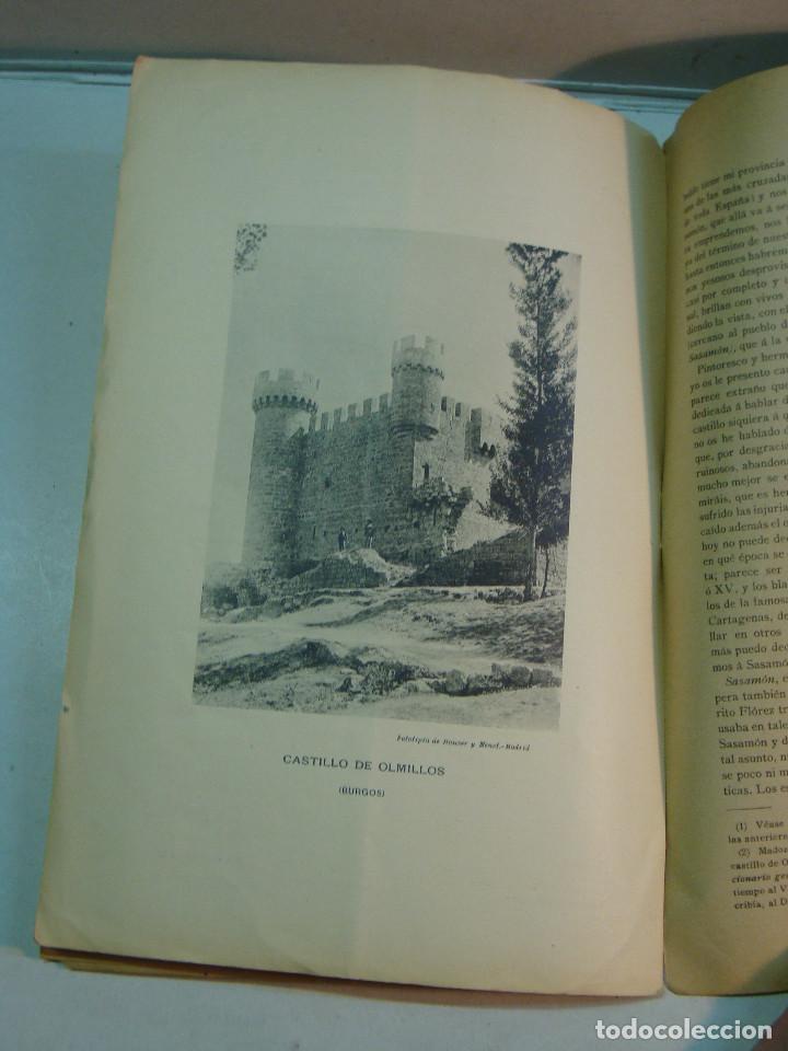 Libros antiguos: Eloy García de Quevedo y Concellón: Excursiones por la Provincia de Burgos (1899) (dedicado) - Foto 4 - 132184986