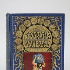 Libros antiguos: LIBRO- GEOGRAFÍA UNIVERSAL / BIBLIOTECA HISPANIA -AGUSTÍN BLÁNQUEZ FRAILE - ED. RAMÓN SOPENA, 1934. Lote 133190662