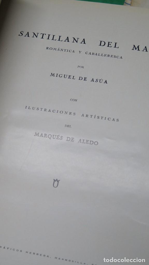 Libros antiguos: 1934.- SANTILLANA DEL MAR. ROMÁNTICA Y CABALLERESCA. TAPA DURA - Foto 2 - 261124810
