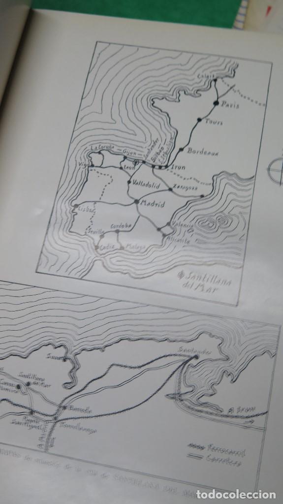 Libros antiguos: 1934.- SANTILLANA DEL MAR. ROMÁNTICA Y CABALLERESCA. TAPA DURA - Foto 6 - 261124810