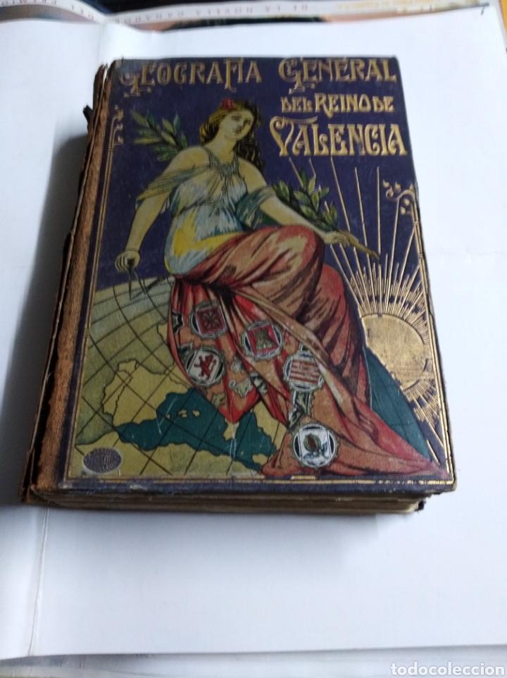GEOGRAFÍA GENERAL DEL REINO DE VALENCIA 3 TOMOS (Libros Antiguos, Raros y Curiosos - Geografía y Viajes)