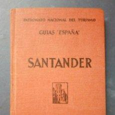 Libros antiguos: GUÍA DE SANTANDER - ESPASA CALPE 1930 ( 1ª EDICIÓN ).. Lote 134183730