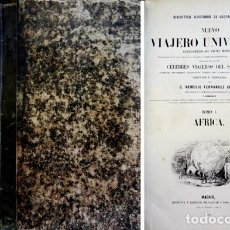 Libros antiguos: FERNANDEZ (ED.). NUEVO VIAJERO UNIVERSAL. ENCICLOPEDIA DE VIAJES MODERNOS... TOMO I - AFRICA. 1859.. Lote 134366274
