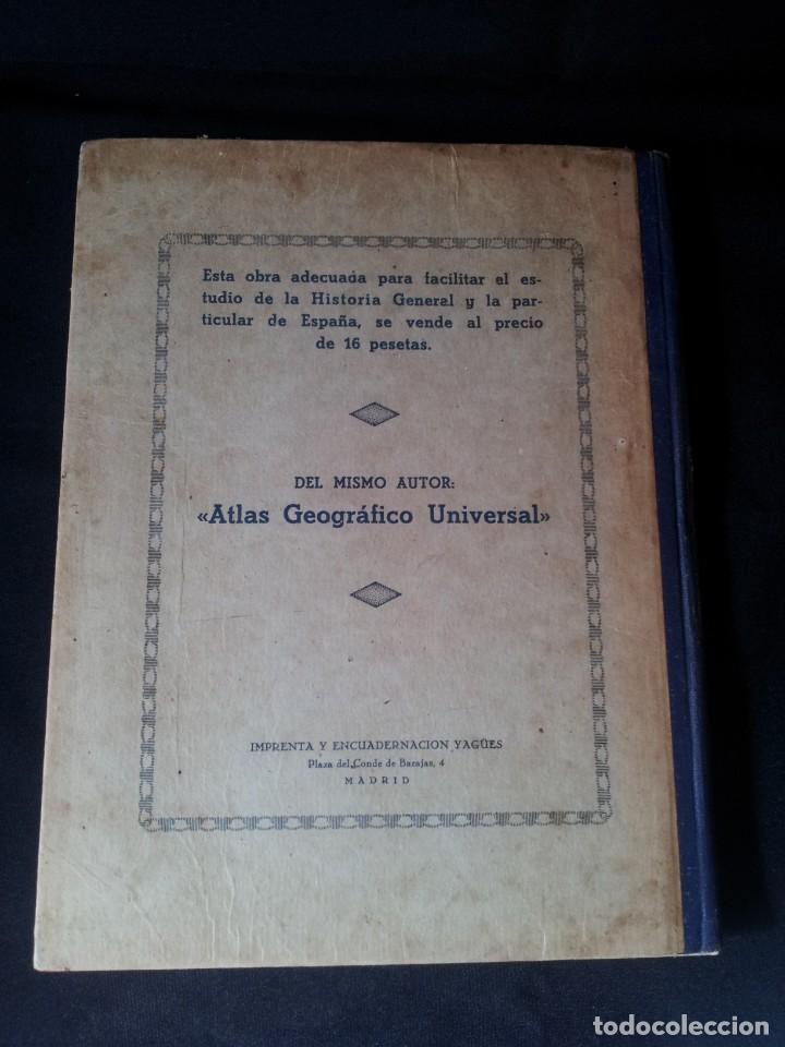 Libros antiguos: SALVADOR SALINAS Y BELLVER - ATLAS HISTORICO GENERAL Y DE ESPAÑA - SEGUNDA EDICION 1936 - Foto 2 - 134730138