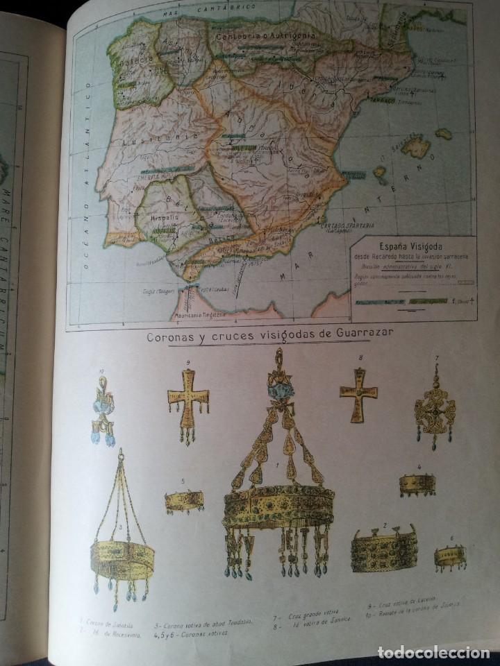 Libros antiguos: SALVADOR SALINAS Y BELLVER - ATLAS HISTORICO GENERAL Y DE ESPAÑA - SEGUNDA EDICION 1936 - Foto 6 - 134730138