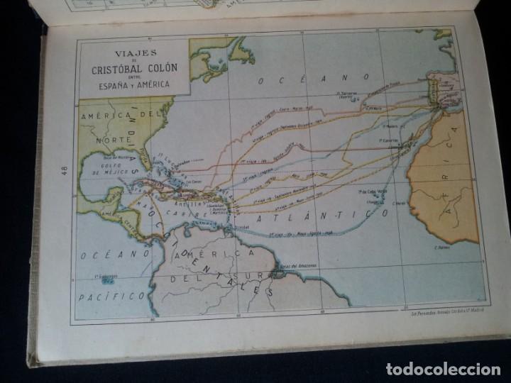Libros antiguos: SALVADOR SALINAS Y BELLVER - ATLAS HISTORICO GENERAL Y DE ESPAÑA - SEGUNDA EDICION 1936 - Foto 8 - 134730138